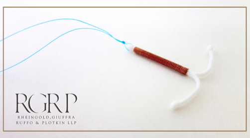 Intrauterine Device (IUD), a T-shaped device used as a form of birth control.