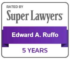 Super Lawyers Edward Ruffo Badge