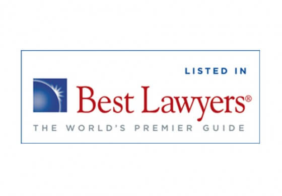 Listed in Best Lawyers Badge