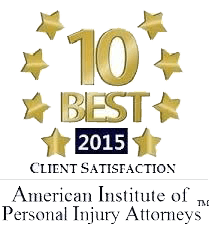 2015 10 Best Client Satisfaction Award Logo