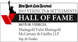 New York Law Journal Hall of Fame Badge