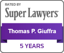 Super Lawyers Thomas Giuffra Badge