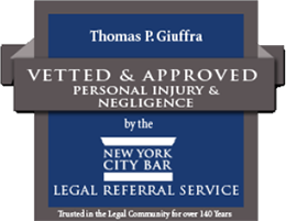 New York City Bar Vetted and Approved Thomas Giuffra Badge